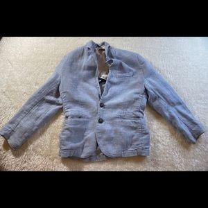 Boys H&M light blue 5-6Y blazer